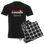 Education is Strength Men's Dark Pajamas
