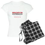 Education is Strength Women's Light Pajamas