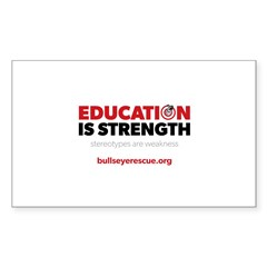 Education is Strength Decal