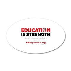 Education is Strength Wall Decal