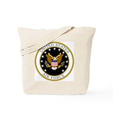 USAF-Logo-7-Black.gif Tote Bag