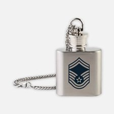 USAF-SMSgt-X.gif Flask Necklace