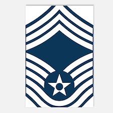 USAF-CMSgt-X.gif Postcards (Package of 8)