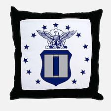 USAF-Capt.gif Throw Pillow