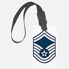 USAF-SMSgt-Black-Shirt Luggage Tag