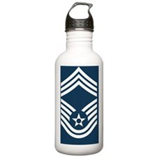 USAF-CMSgt-Mousepad.gi Water Bottle