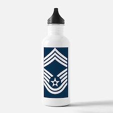 USAF-CMSgt-Mousepad.gi Water Bottle