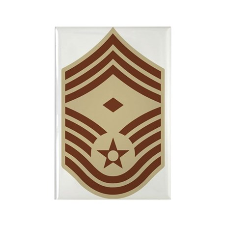 USAF-1Sgt-E9-Khaki.gif Rectangle Magnet