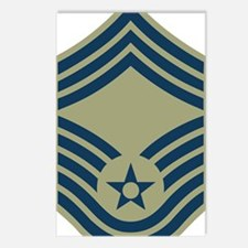 USAF-CMSgt-Olive.gif Postcards (Package of 8)