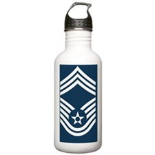 USAF-CMSgt-Greetings.g Water Bottle