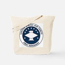 USAF-First-Sergeant-Logo-Bonnie.gif Tote Bag