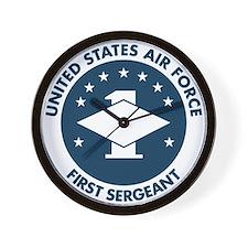 USAF-First-Sergeant-Logo-Bonnie.gif Wall Clock