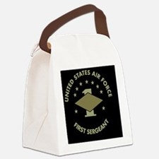 USAF-First-Sergeant-Black-Cap.gif Canvas Lunch Bag