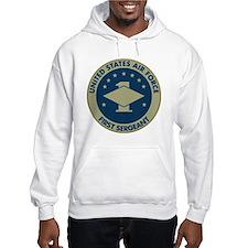 USAF-First-Sergeant-Black-Shirt Hoodie