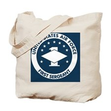 USAF-First-Sergeant-Greetings.gif Tote Bag