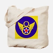 USAF-8th-AF-Clock.gif Tote Bag
