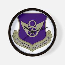 USAF-8th-AF-Subdued.gif Wall Clock
