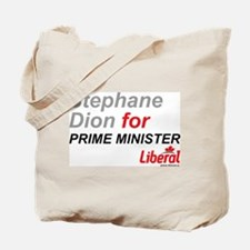 Stephane Dion for PM Tote Bag