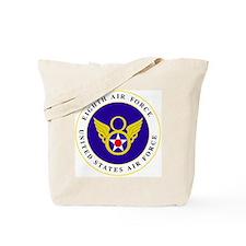 usaf-8th-af-roundel-bonnie.gif Tote Bag