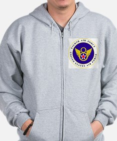 usaf-8th-af-roundel-bonnie.gif Zip Hoodie
