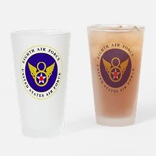 usaf-8th-af-roundel-bonnie.gif Drinking Glass