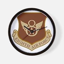 USAF-8th-AF-Brown-Shirt Wall Clock
