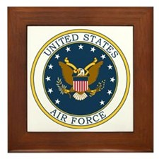 USAF-Patch-3X-DUPLICATE.gif Framed Tile