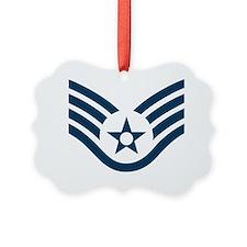 USAF-SSgt-Green-Shirt Ornament