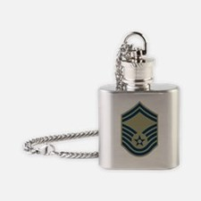 USAF-SMSgt-Green.gif Flask Necklace