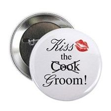 Kiss the Groom Button