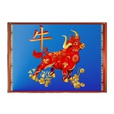 Year Of The Ox 5'x7'Area Rug