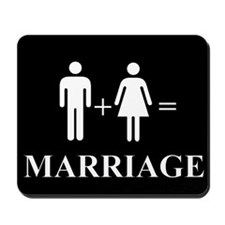 Support Marriage Mousepad