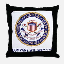 USCG-Recruit-Co-W175-Shirt-2.gif Throw Pillow
