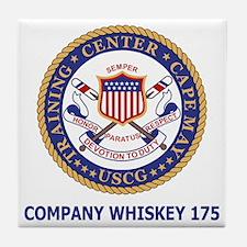 USCG-Recruit-Co-W175-Shirt-2.gif Tile Coaster