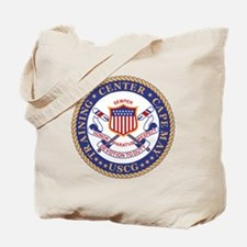 USCG-TRACEN-CpMy-Black-Shirt Tote Bag