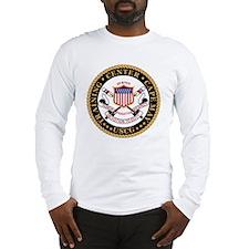 USCG-TraCen-Cape-May-Black.gif Long Sleeve T-Shirt