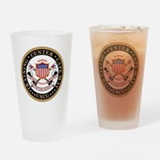 USCG-TraCen-Cape-May-Black.gif Drinking Glass