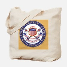 USCG-TraCen-Cape-May-Button.gif Tote Bag