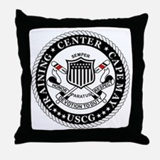 3-USCG-TraCen-Cape-May-Messenger.gif Throw Pillow