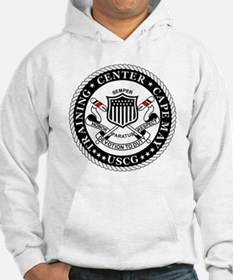 3-USCG-TraCen-Cape-May-Messenger Hoodie