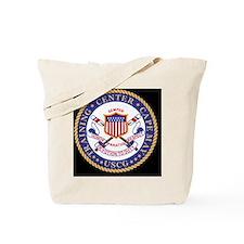 USCG-TraCen-Cape-Clock.gif Tote Bag