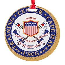 3-USCG-TraCen-Cape-May-Button.gif Ornament