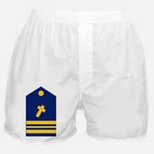 Navy-USCG-LCDR-Chaplain.gif Boxer Shorts