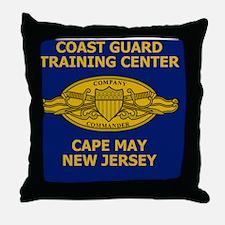 USCG-Company-Commander-Tile.gif Throw Pillow
