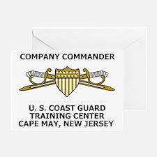 USCG-Company-Commander-Messenger.gif Greeting Card