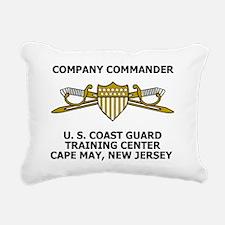 USCG-Company-Commander-M Rectangular Canvas Pillow