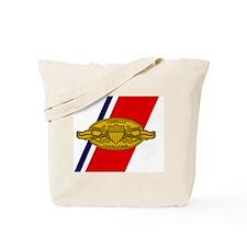 USCG-Company-Commander-Greetings.gif Tote Bag