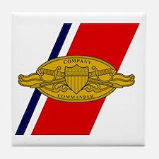 USCG-Company-Commander-Mousepad.gif Tile Coaster