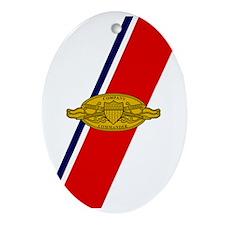 USCG-Company-Commander-Journal.gif Oval Ornament