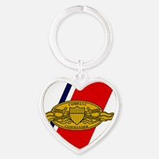USCG-Company-Commander-Magnet.gif Heart Keychain